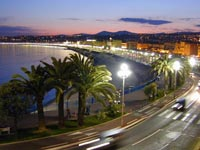 Nice - Promenade des Anglais (photo by William M. Connolley)